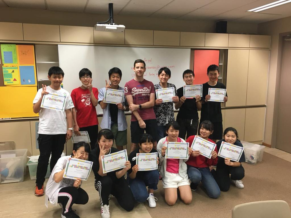 Teacher Paul at Canadian International School - 2019