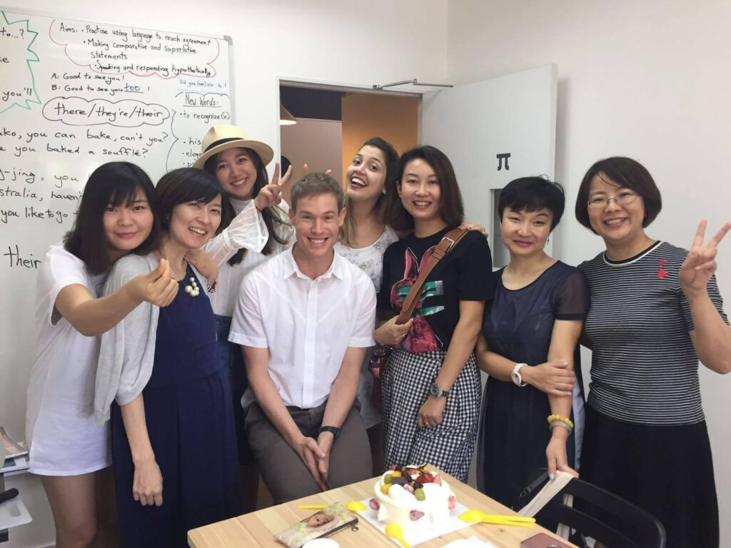 Teacher Hugh's Birthday - 2016